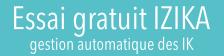 Gestion automatique des IK