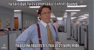 comptable TVA bouclée le 21